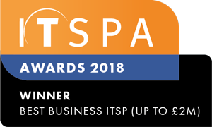 We won the ITSPA Award for Best Business ITSP!