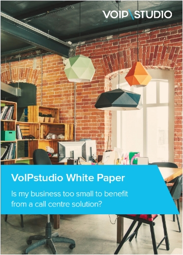 Is my business too small for a call centre white paper