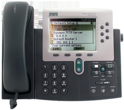Cisco 79xx TFTP