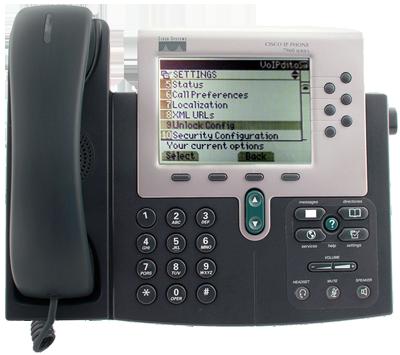 How To Configure Cisco 79xx Phone With VoIPstudio