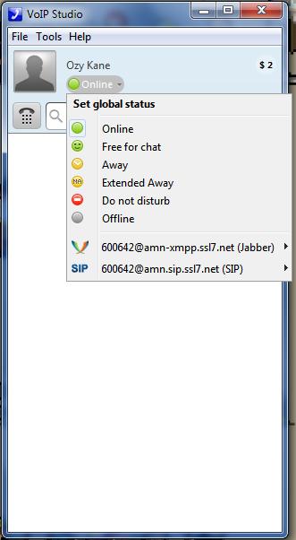 VoIP Presence