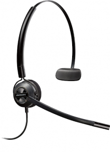 Wired headset - Plantronic Encore HW540