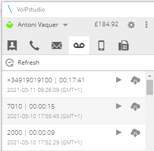 Automatic VoIP call recording