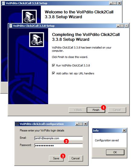 VoIPstudio SIP Click to Call link handler