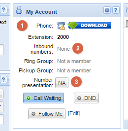 How to Get a VoIP Number: Administration panel