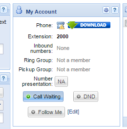 no voip number assigned