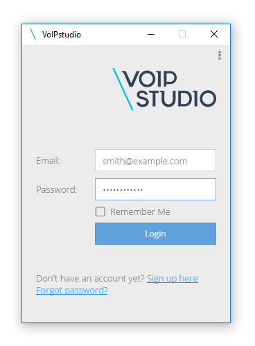 Click To Call With VoIPstudio API - VoIPstudio